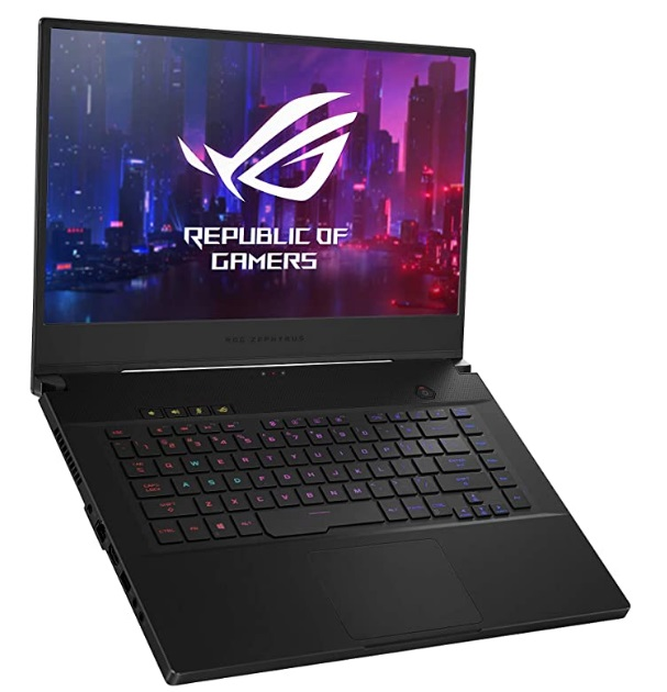 OG Zephyrus M Thin and Portable-best ultra-slim gaming laptop for Warzone