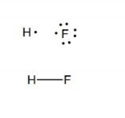 How many double bonds are in the lewis structure for hydrogen fluoride, hf?