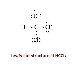 Draw a lewis structure for hccl3. show all unshared pairs and the formal charges